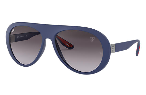 45e98c000e4bfe Ray-Ban Scuderia Ferrari Collection Rb4310m RB4310M Blue - Peek ...