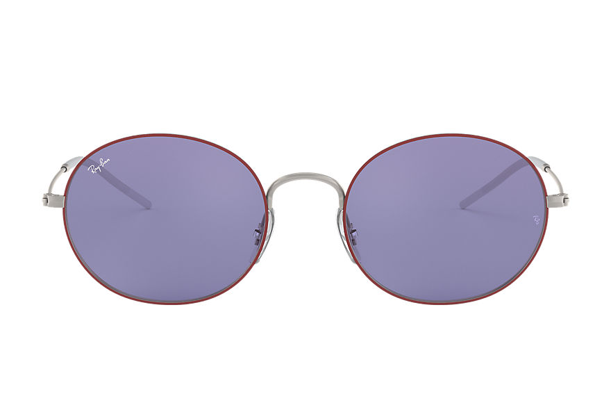 Ray-Ban RAY-BAN BEAT Bordeaux with Dark Violet Classic lens