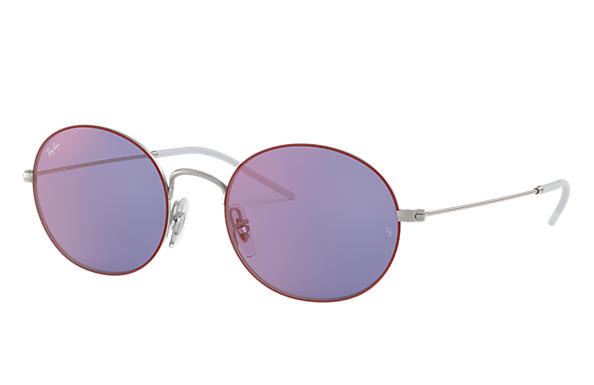 Ray-Ban 0RB3594-RAY-BAN BEAT Bordeaux,Silver; Silver SUN