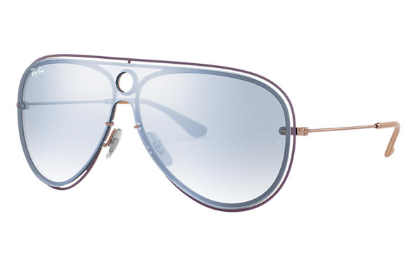 Ray-Ban 0RB3605N-RB3605N Violet,Bronze-Copper; Bronze-Copper SUN