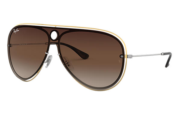 Ray-Ban 0RB3605N-RB3605N Gold,Silber; Silber SUN