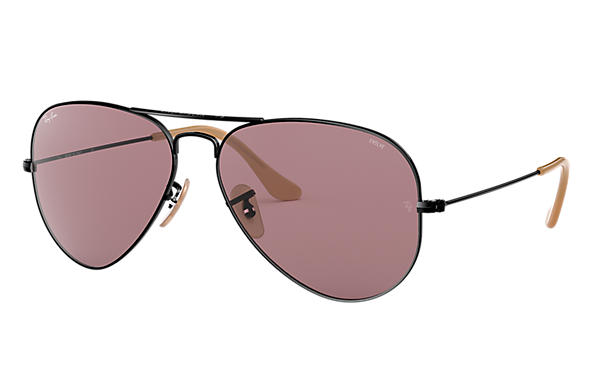 Ray-Ban 0RB3025-AVIATOR EVOLVE Negro SUN