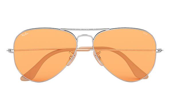 ray ban aviator orange