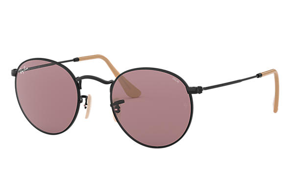 Ray-Ban 0RB3447-ROUND EVOLVE Nero SUN