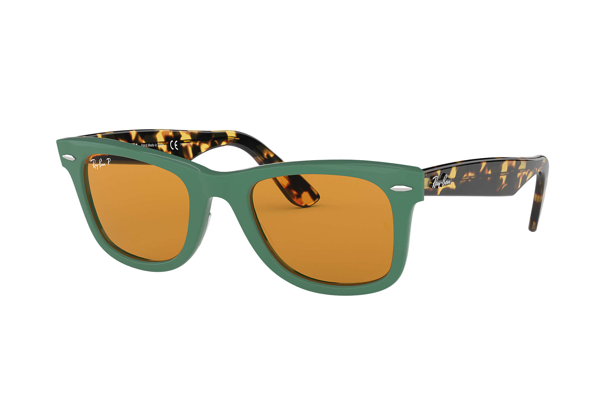 Ray Ban Wayfarer Pop RB2140 Verde Acetato Lenti