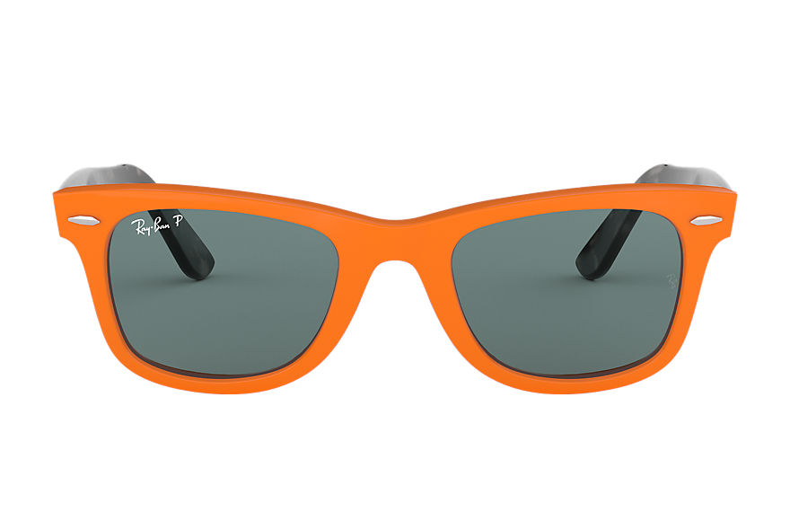 Ray-Ban  sunglasses RB2140 UNISEX 007 wayfarer pop orange 8053672926507