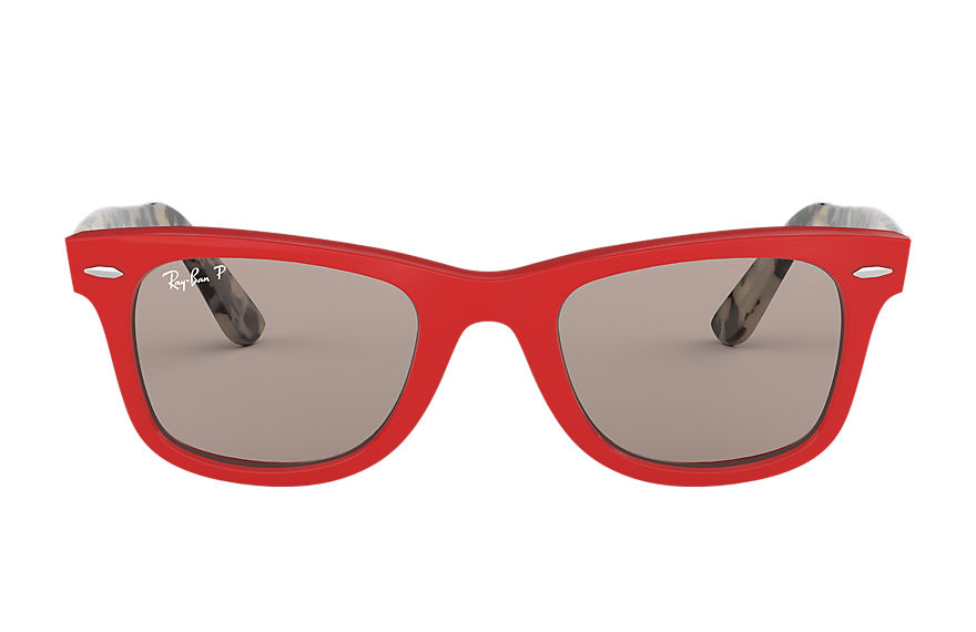 Ray-Ban  sunglasses RB2140 UNISEX 008 wayfarer pop red 8053672926538