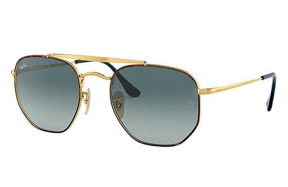 Ray-Ban 0RB3648-MARSHAL Tortoise,Gold; Gold SUN