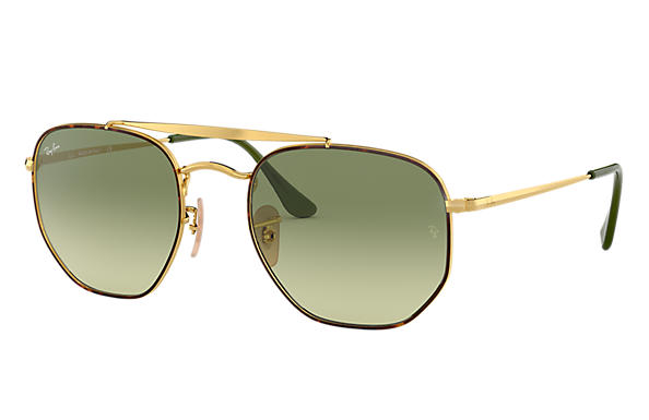 Ray-Ban 0RB3648-MARSHAL Havane,Or; Or SUN