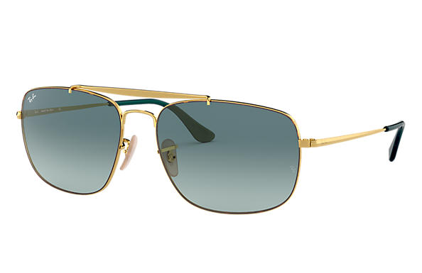 Ray-Ban 0RB3560-COLONEL Tortoise,Gold; Gold SUN