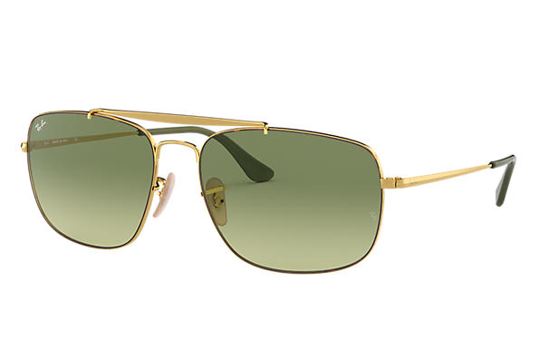 Ray Ban Lenti Verde Colonel 0rb356000158 Steel Oro Rb3560 66ZqSw
