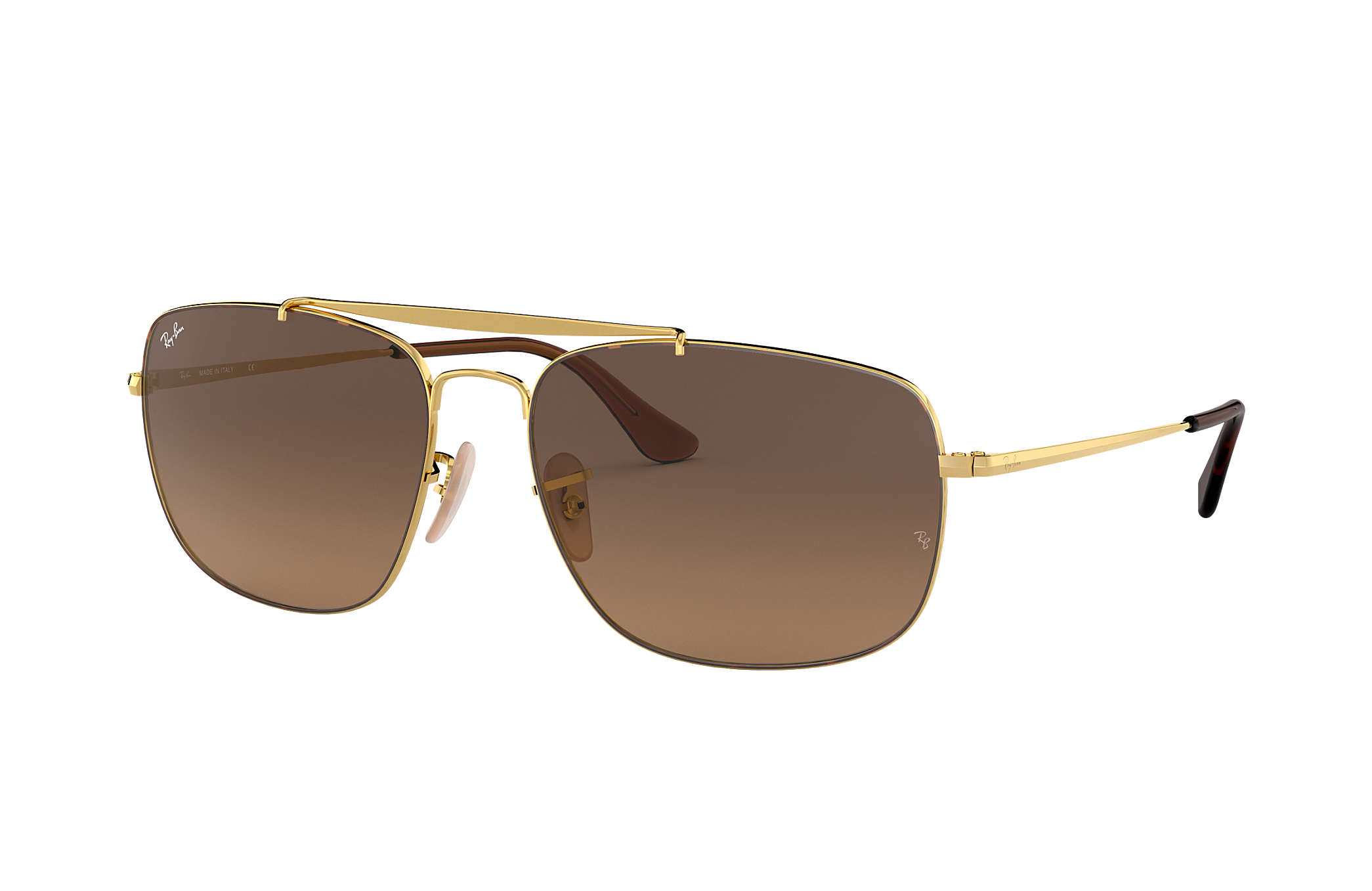 91e9f02cc7 Ray-Ban Colonel RB3560 Tortoise - Steel - Brown Lenses ...