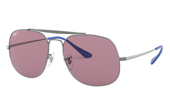 Ray-Ban 0RB3561-GENERAL POP Gunmetal SUN