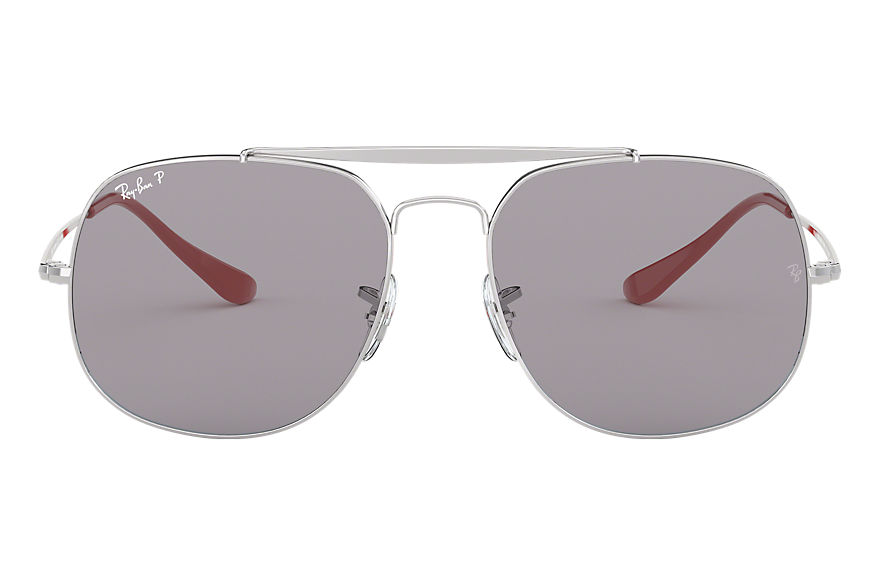 Ray-Ban  gafas de sol RB3561 MALE 006 general pop plata 8053672926743