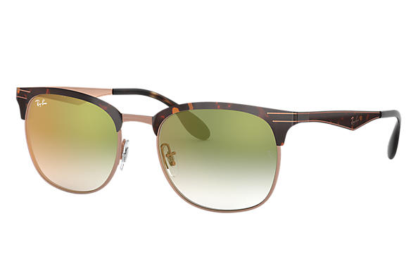 Ray-Ban 0RB3538-RB3538 Tortoise,Gold; Tortoise,Bronze-Copper SUN