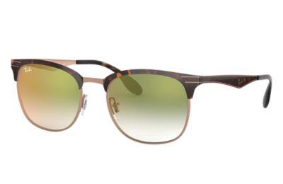 Comprar Ray-Ban Gafas-de-sol RB3538 Habana con lente Verde Degradada espejada