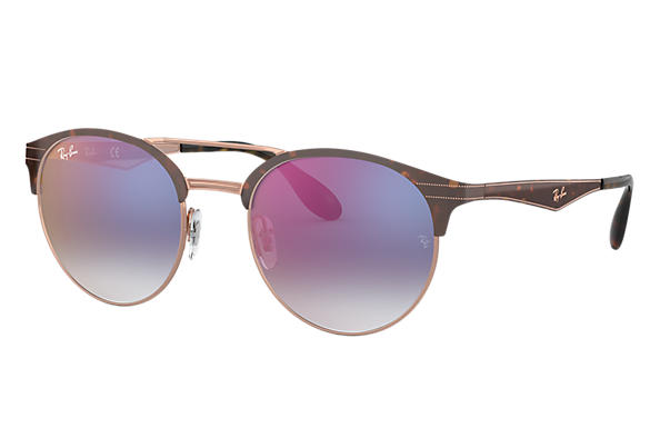 Ray-Ban 0RB3545-RB3545 Tortoise,Bronze-Copper SUN
