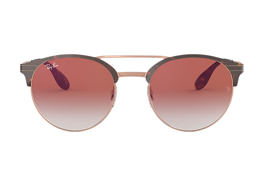 Ray-Ban Sunglasses RB3545 Tortoise with Red Gradient Mirror lens