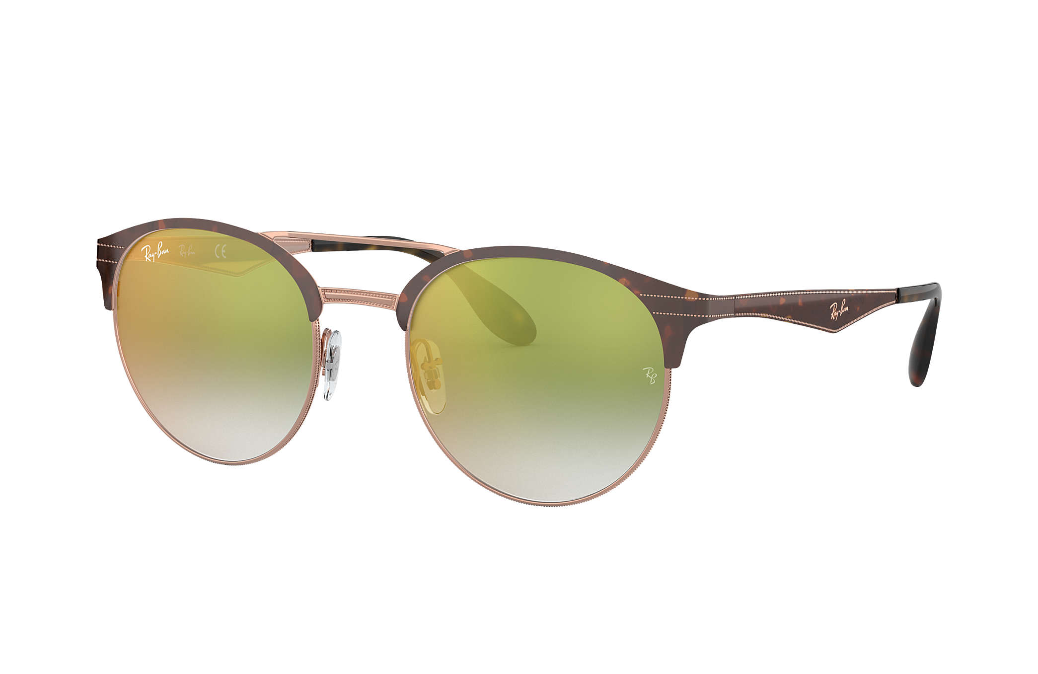 f5b82376726 Ray-Ban RB3545 Tortoise - Metal - Green Lenses - 0RB35459074W051 ...