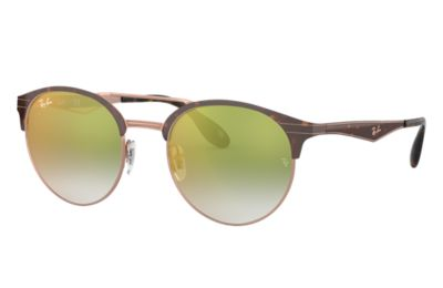 Comprar Ray-Ban Gafas-de-sol RB3545 Habana con lente Verde Degradada espejada