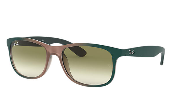 Ray-Ban 0RB4202-ANDY Light Brown; Green,Light Brown SUN