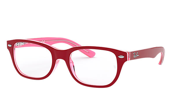 Ray-Ban 0RY1555-RB1555 Burdeos,Rosa OPTICAL