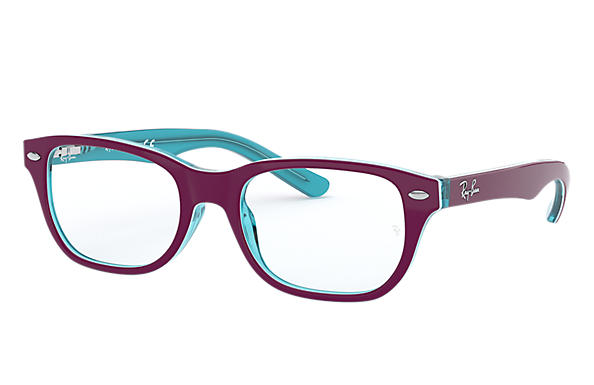 Ray-Ban 0RY1555-RB1555 Violett-Rot,Hellblau OPTICAL