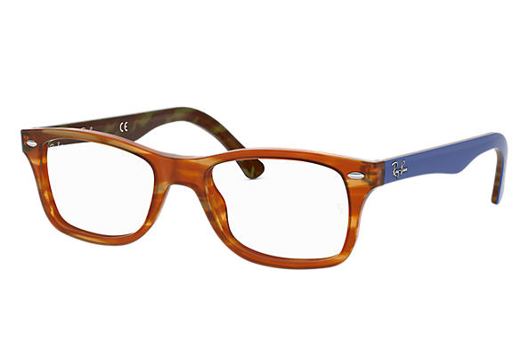 Ray-Ban 0RX5228-RB5228 Tortoise; Blue OPTICAL