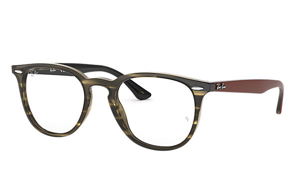 Ray-Ban 0RX7159-RB7159 Havana; Braun OPTICAL