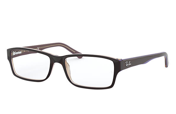 ac47b27d1d Ray-Ban prescription glasses RB5169 Black - Acetate - 0RX5169581654 ...