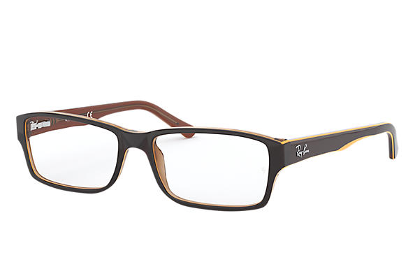 Ray-Ban 0RX5169-RB5169 Braun; Hellbraun OPTICAL