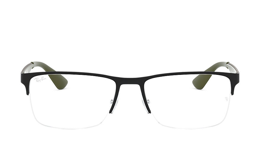 Ray-Ban  eyeglasses RX6335 MALE 004 rb6335 黑色 8053672927900