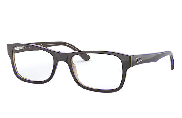 Ray-Ban 0RX5268-RB5268 Black; Brown OPTICAL