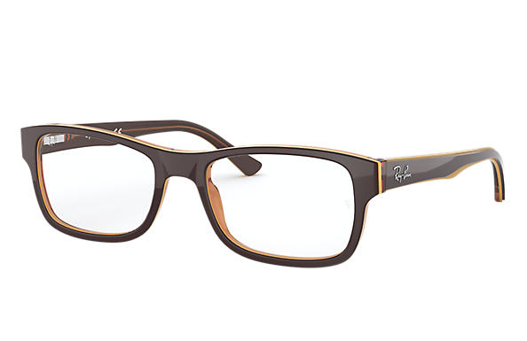 0951245821 Ray-Ban prescription glasses RB5268 Brown - Acetate - 0RX5268581752 ...