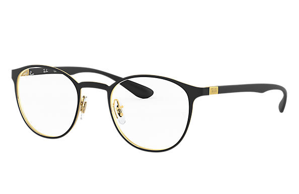 Ray-Ban 0RX6355-RB6355 Black,Gold; Black OPTICAL