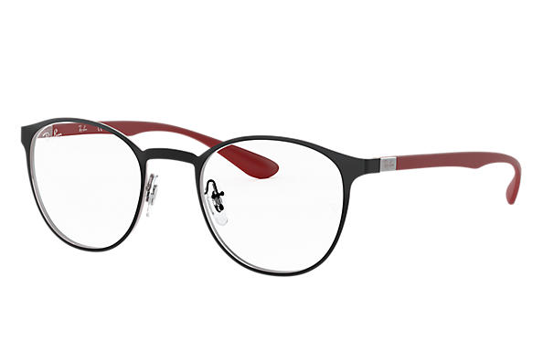 Ray-Ban 0RX6355-RB6355 Black,Silver; Red OPTICAL