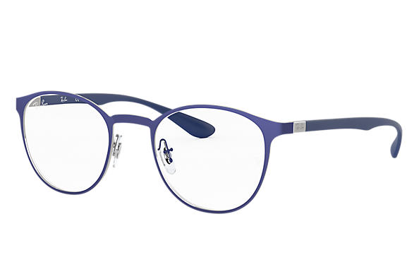 Ray-Ban 0RX6355-RB6355 Blue,Gunmetal; Blue OPTICAL