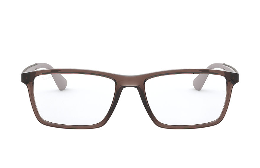 Ray-Ban  eyeglasses RX7056 MALE 001 rb7056 light brown 8053672928198
