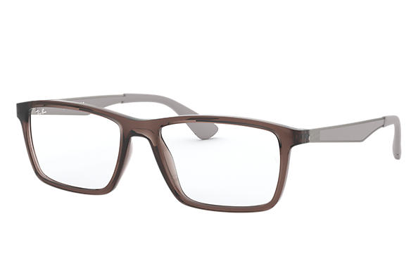 Ray-Ban 0RX7056-RB7056 Hellbraun; Gunmetal,Grau OPTICAL