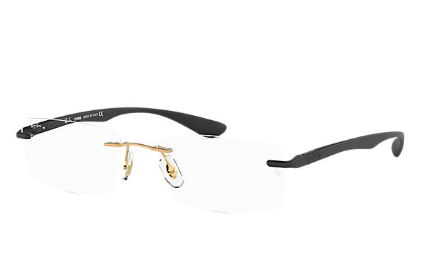 Ray-Ban 0RX8724-RB8724 Gold; Black OPTICAL