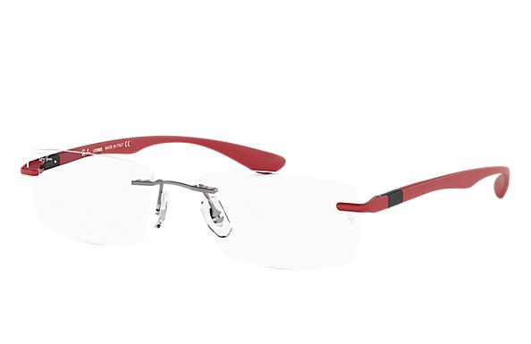 Ray-Ban 0RX8724-RB8724 Gun; Rouge OPTICAL