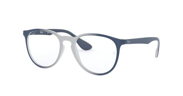 10bfce7fe1 Ray-Ban prescription glasses Erika Optics RB7046 Light Blue - Injected -  0RX7046582051