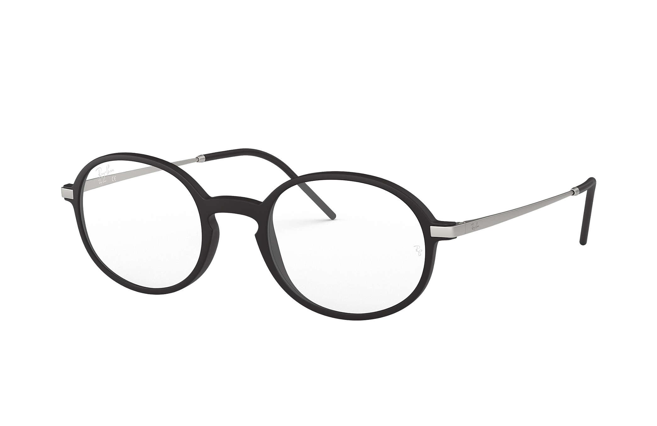 ea6ccd34f2f2d Óculos de grau Ray-Ban RB7153 Preto - Injetado - 0RX7153536452