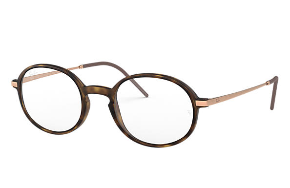 Ray-Ban 0RX7153-RB7153 Havane; Bronze-cuivre OPTICAL