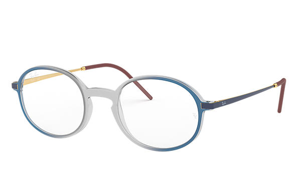 Ray-Ban 0RX7153-RB7153 Grau; Blau,Gold OPTICAL