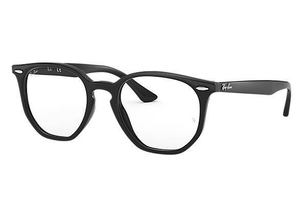 Ray-Ban 0RX7151F-HEXAGONAL OPTICS Black OPTICAL