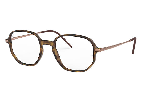 Ray-Ban 0RX7152-RB7152 Tortoise; Bronze-Copper OPTICAL