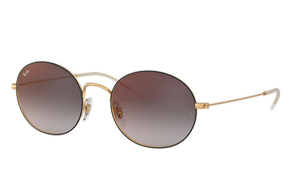 Ray-Ban 0RB3594-RAY-BAN BEAT Black,Gold; Gold SUN