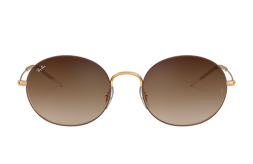 Ray-Ban RAY-BAN BEAT Brown with Brown Gradient Mirror lens