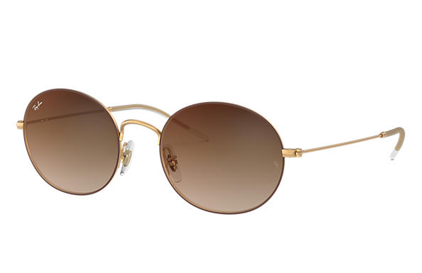 Ray-Ban 0RB3594-RAY-BAN BEAT Brown,Gold; Gold SUN